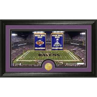 Baltimore Ravens Traditions Bronze Coin Photo Mint Panoramic