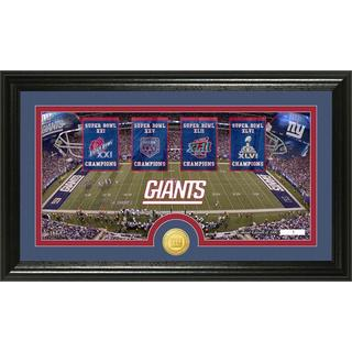 New York Giants Traditions Bronze Coin Panoramic Photo Mint