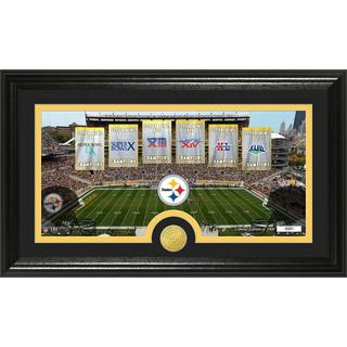 Pittsburgh Steelers Traditions Bronze Coin Panoramic Photo Mint