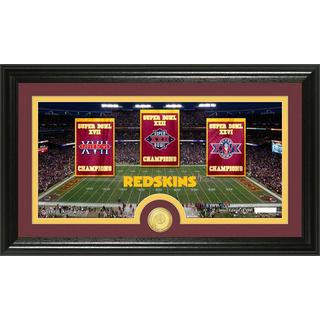 Washington Redskins Traditions Bronze Coin Panoramic Photo Mint