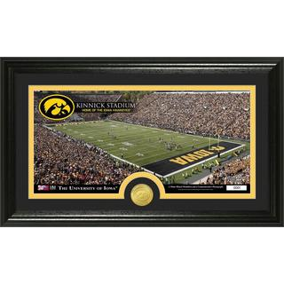 University of Iowa Stadium Bronze Coin Panoramic Photo Mint