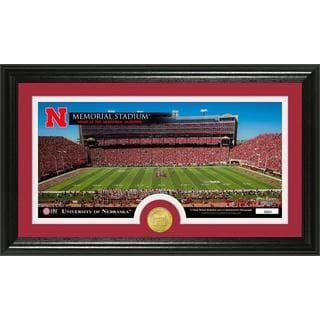 University of Nebraska Stadium Bronze Coin Panoramic Photo Mint