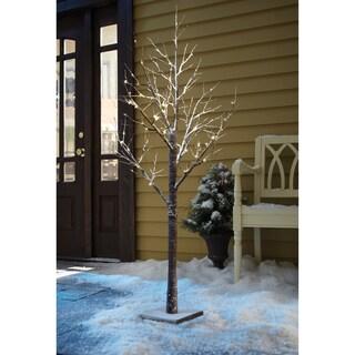 Sarah Peyton 6-feet Decorative LED Snow Tree