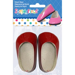 Springfield Collection Patent Shoes Pink or Red