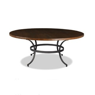 Made to Order 'Tahoe' Wrought Iron Round Dining Table