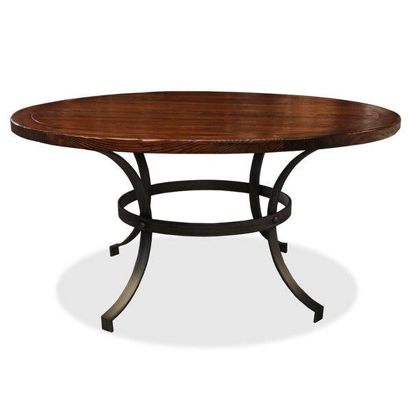 'Tahoe' Wrought Iron Round Dining Table