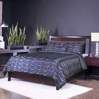 Espresso Floating Panel Low-profile Storage Bed