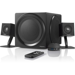 Creative MF0430 2.1 Speaker System - Wireless Speaker(s) - Black