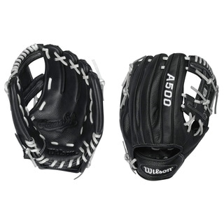 Wilson A500 10.75-inch Right Hand Youth Leather Glove
