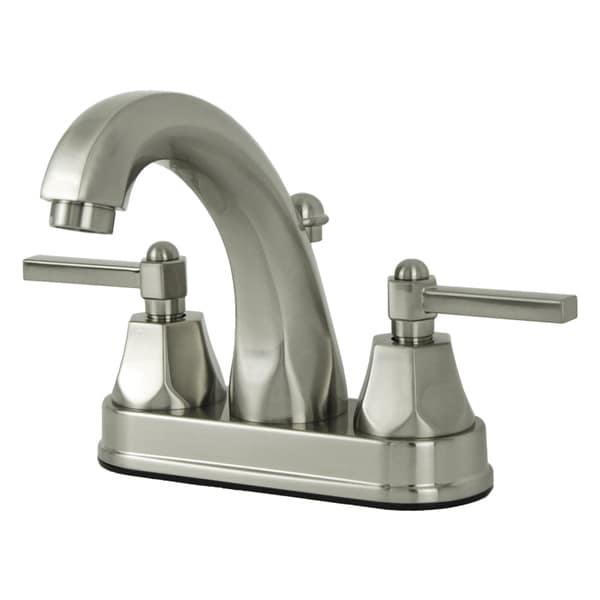 Fontaine Renata Brushed Nickel Centerset Bathroom Faucet