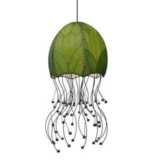 Green Jellyfish Pendant Light