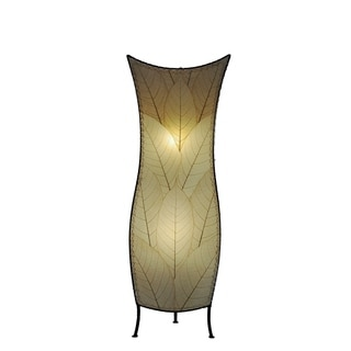 Cocoa Leaf Multi Flower Bud Large Floor Lamp (Philippines)