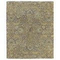 Christopher Kashan Gold Hand-tufted Rug (8'0x 10')