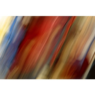 'Striped Tilt' Modern Abstract Canvas Print Wall Art