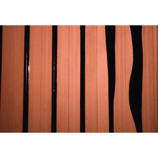 'Striped Planks' Modern Abstract Canvas Print Wall Art