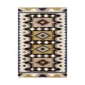 ZnZ Rug Gallery Hand-made Dried Tobacco Wool Rug (5' x 8')