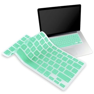 BasAcc Ocean Green Keyboard Skin Shield for Apple MacBook Pro 13-inch
