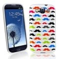 BasAcc Mustaches TPU Rubber Case for Samsung� Galaxy S III/ S3