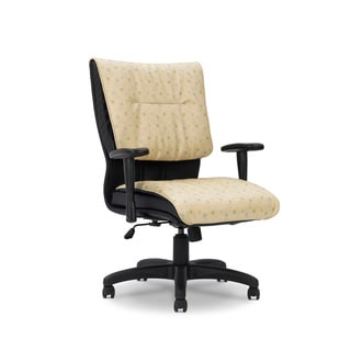 Ergocraft Saddle All Vinyl Medium Back Chair/ Tilt Lock Control