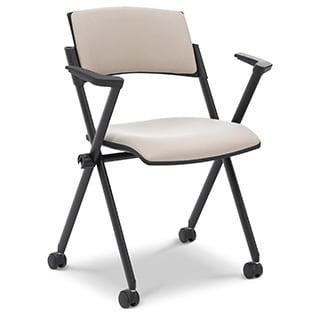 Ergocraft Xilla Nesting Chair/ Upholstered Back (Pack of 4)