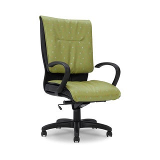 Ergocraft Green Saddle High Back Chair