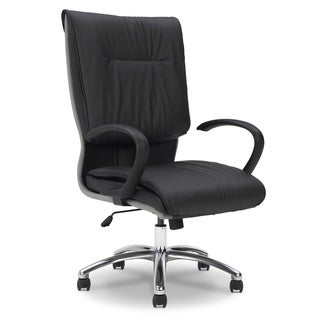 Ergocraft Saddle Leather High Back Chair