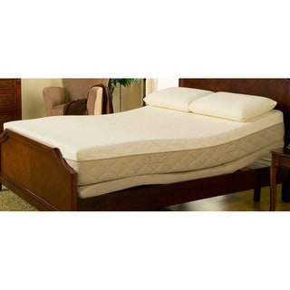 Sleep Zone 10-inch Hybrid King-size Memory Foam Mattress