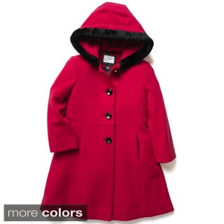 Rothschild Girls A-line Hooded Dress Coat