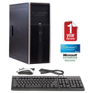 HP Compaq 8100 Elite Core i7 2.8GHz 4GB 250GB Win 7 Minitower Computer (Refurbished)