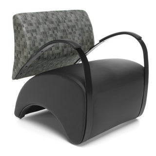 OFM Black/ Grey Arm Chair