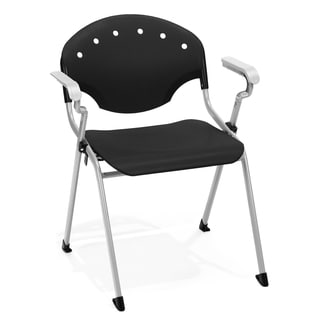 OFM Black Stack Chair 306