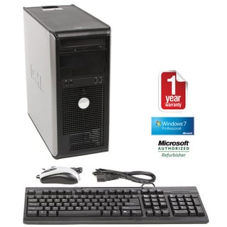 Dell OptiPlex 755 2.53GHz 4GB 750GB Win 7 Mini Tower Computer (Refurbished)