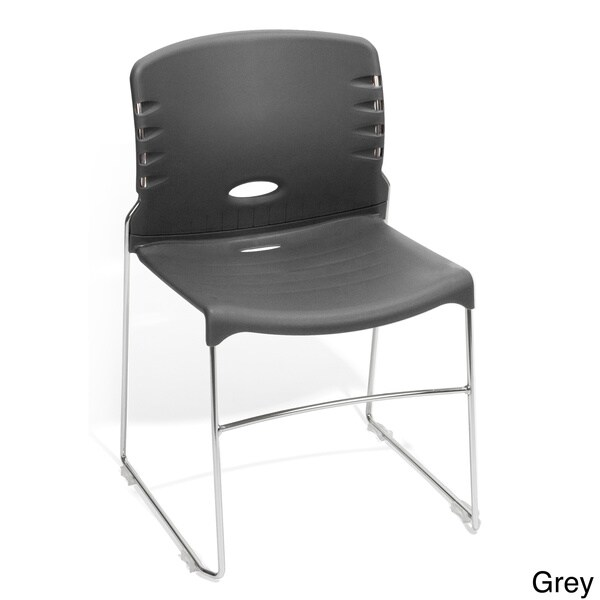 OFM Multi-Purpose Stacking Chairs 320-Chair (Pack of 4)