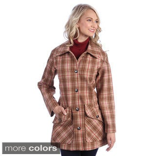 Stormy Kromer Women's 'Ida' Wool Blend Walking Coat