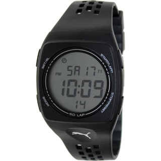 Puma Men's FAAS 300 Black Running Watch