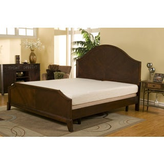 Sleep Zone 8-inch Black Diamond California King-size Memory Foam Mattress