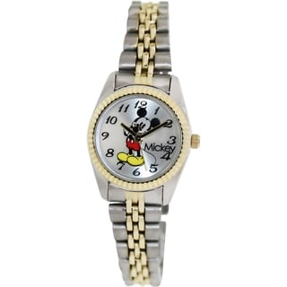 Disney Women's 2-tone Stainless Steel Analog Quartz Watch