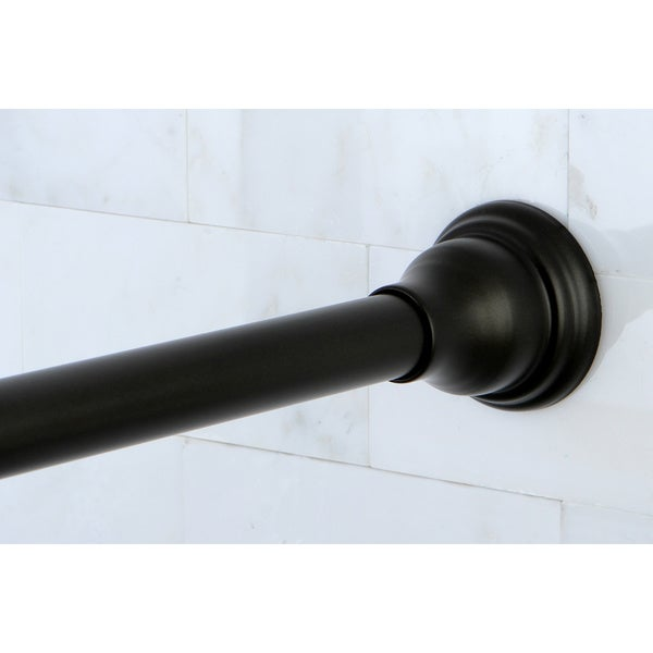 Oil Rubbed Bronze Adjustable Shower Curtain Rod