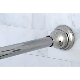 Chrome Adjustable Shower Curtain Rod