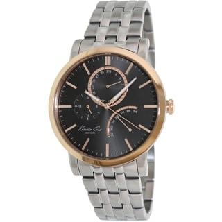 Kenneth Cole Men's Silver Stainless Steel Quartz Watch
