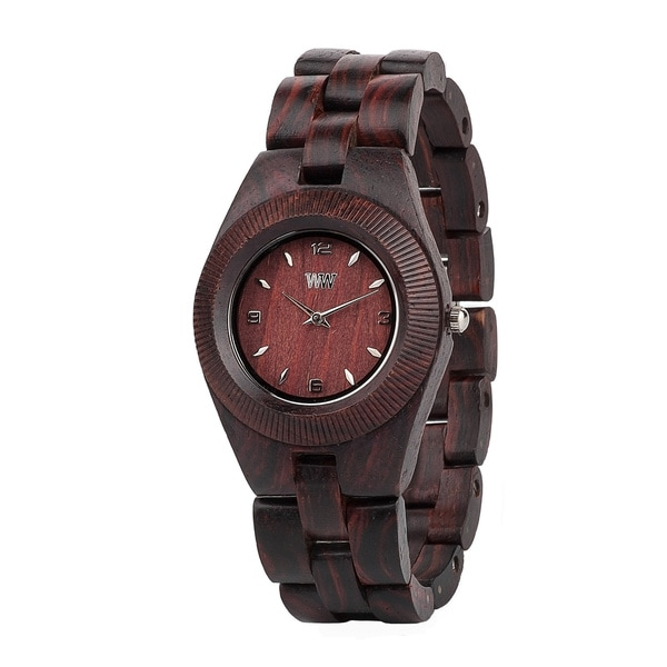 WeWOOD Odyssey Brown Wood Analog Quartz Watch
