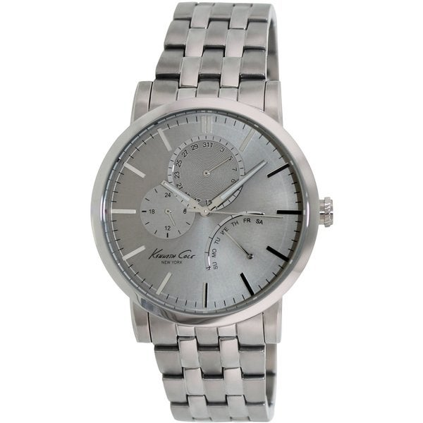 Kenneth Cole Men's Classic Silver Stainless Steel Quartz Watch