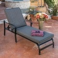 Christopher Knight Home Carnegie Outdoor Adjustable Lounge