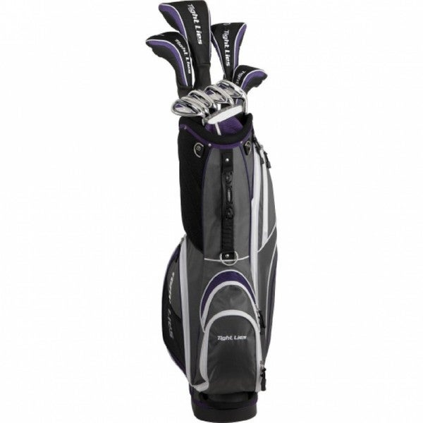 Adams Golf Women's Tight Lies Complete Set Golf Clubs With Bag