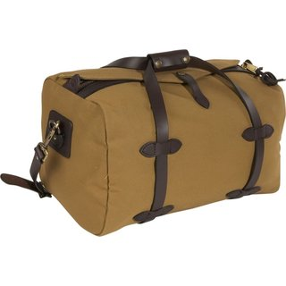 Men's Filson Small 18-inch Desert Tan Duffle Bag
