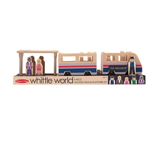 Melissa & Doug Whittle World Train Platform Play Set