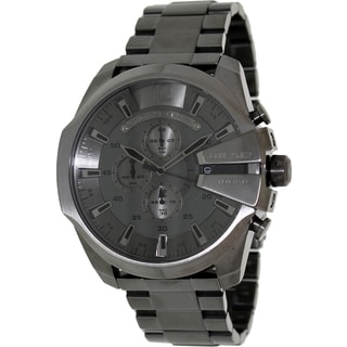 Diesel Men's Grey Stainless Steel and Grey Dial Analog Quartz Watch