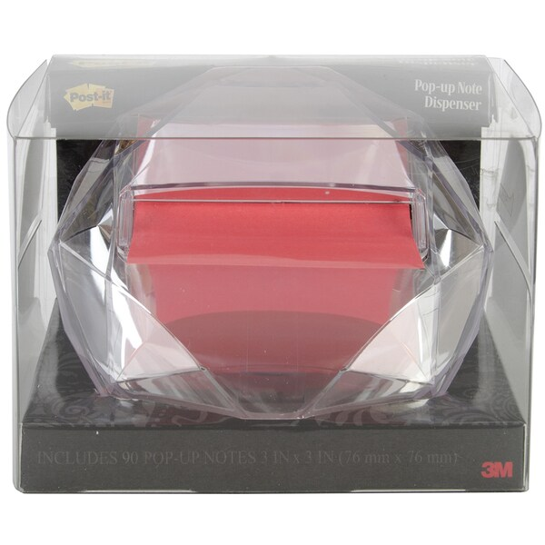 Post It Pop Up Notes Dispenser Diamond Shape