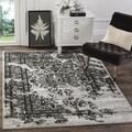 Safavieh Adirondack Silver/ Black Rug (8' x 10')