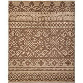 Safavieh Adirondack Camel/ Chocolate Rug (5'1 x 7'6)